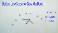 apple bottom case - Hot sale Bottom Case Screw Set For Apple For Macbook Pro Unibody quot quot quot A1278 A1286 A1297 Bottom Case Base Screw Screws Set