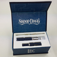 Wholesale Snoop Dogg Product Vaporizer Pen Kit Blue G Pen and Black G Pen Snoop Dogg kit with dry herbal with glass filter