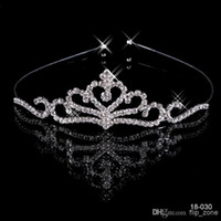 Cheap Wholesale - Free Shipping Cheap $4.99 2014 Hot Sale Popular Beautiful Hair Accessories Comb Crystal Rhinestone Bridal Wedding Tiara Bridal A