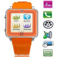 Wholesale Unique Design TW208 Watch Phone With Quad Band Single SIM Bluetooth Camera inch QVGA Touch Screen Touch Screen Watch Phone