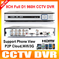 H.264 NTSC/PAL D1/1080P 960h dvr 8 channel H.264 8ch cctv dvr recorder hd 1080P HDMI output Network CCTV DVR FUll D1 Real time Recording P2P Cloud wifi 3G