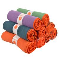 Wholesale New Yogitoes Nonslip Skidless Yoga Mat Towel Silicon Nubs x63cm