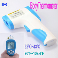 Wholesale Non Contact Digital Infrared IR Laser Baby Forehead Surface Thermometer freeshipping