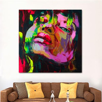 Wholesale Beautiful Girl Oil Painting Style Home Decoration Art Pictures Wall Paintings on UV Prints for Kitchen Dining Bed Room x30cm