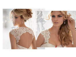 Wholesale Wedding amp Events Bridal Wraps amp Jackets Lace Applique Bolero Jacket Shawl Coats Bridal Accessories