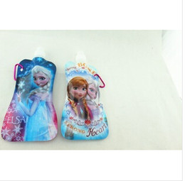 Wholesale 2014 New Frozen Water cups Drinkware Cute Water cups Mini Gifts Elsa Anna Bottles Frozn students Cups frozenc21