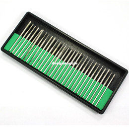 Promotion forets en métal Gros-407-PRO 30 pièces d'Art d'Ongle Électrique Fichiers Foret de Remplacement Manucure Acrylique Outil