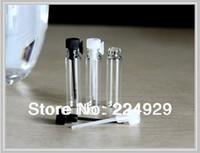 Tester perfume Prix-Livraison gratuite, 1ml mini-parfum flacon en verre, parfum flacon d'échantillon, testeur bouteille