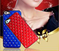 Wholesale 2014 New Luxury swarovski rhinestones diamante Starry Sky Hight Quality Hard Covers Case for iphone S S iphone4S iphone5S iphone6