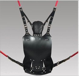 2018 New Leather Sex Swing Hammock Bundled Sex Tools Multi-function Berth Trapeze Adult Sex Game Product Bondage Bdsm Toy SM451