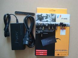 Envío libre caliente universal 96W del ordenador portátil 15V-24V adaptador de energía de CA con 8 conectores
