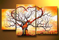 Cheap Abstrac Oil Painting Tree Best oil painting