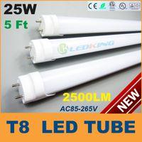 T8 24W SMD 3528 High quality T8 LED Tube Light 25W 5ft 1500mm 1.5m LED fluorescent tube lamp SMD2835 High brightness 2500LM AC85-265V CE RoHS FCC ETL SAA UL