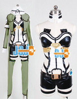 Wholesale Sword Art Online Phantom Bullet Cosplay Dresses Gun Gale Onlin Sinon Cosplay Costume Gun Gale Online Cosplay Costumes Japan Anime