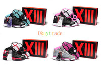 Wholesale Colorways Best Quality Famous Trainers Retro XIII Women s Sports Basketball Shoes Sneakers Shoe Size