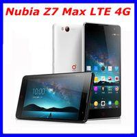 "Cheap ZTE Nubia Z7 Max FDD LTE 4G Snapdragon 801 MSM8974AC 2.5GHz 5.5"" IPS 441ppi 1920x1080 2GB Ram 32GB Dual Sim 13.0MP Camera F2.0"