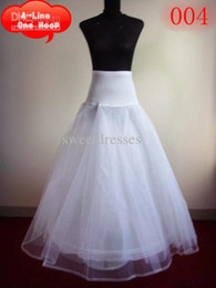 Wholesale Best Selling Cheap A Line Tulle Bridal white color Petticoats Wedding Underskirt Crinolines Bridal Accessory