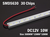 Wholesale Led Rigid Bar DC Volt SMD Warm White Cool White Aluminium Led Rigid Strip Bar Light Meter