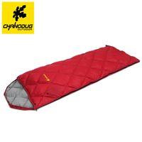 Wholesale CHANODUG Degree Winter Outdoor Duck Down Sleeping Bag ultralight ultra thin but keep warm kg