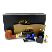 best cigarettes brands - Best Selling Brand new E pipe Health Smoking Pipe E Cigarette E Pipe Imitate Solid Wood Design Best Top grade Package Set goodwillbiz