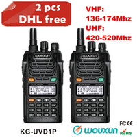 Handheld cb radio - Wouxun KG UVD1P handheld walkie talkie with Groups DCS and Groups CTCSS dual band cb two way radio al ot