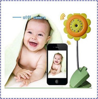 Wholesale New Arrival P2P WIFI wireless Flower Baby Monitor Camera Support Android Phone and iPhone monitor