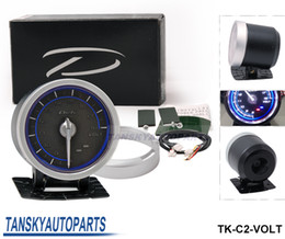 Wholesale Tansky High Quality DF Link Meter ADVANCE C2 Volt Gauge Blue Universal Have in stock TK C2 VOLT