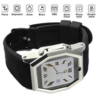 Quad Band - Excellent Quality Quad Band Watch Phone TW520 External Unicom G Touch Screen Single Card Hands Free Audio Video Record Mobile Phone