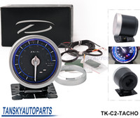Wholesale Tansky High Quality Universal DF Link Meter ADVANCE C2 mm Tachometer RPM Blue Have in stock TK C2 TACHO