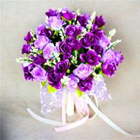 Cheap DIY Bride Bouquets Best Manufacture Rose