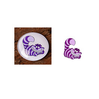 Wholesale Handmade mm mm Alice in Wonderland Round Glass Cabochons for Necklace Decoration and Phone Chain Accessaries F0189