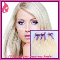 Cheap 6A Brazilian virgin hair straight weave bundles 2PC 3PC lot Best quality human hair weave color 613#