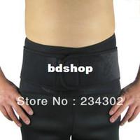 Wholesale A velcro health care compression back brace belt Neoprene waist belt support stabilizer