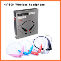 HB 800 HV 800 HV- 800 Bluetooth Wireless Stereo Earphone Head...