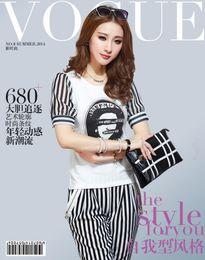 Wholesale Fashion Piece Sets Lace Half Sleeve T Shirt Pants Women Girl Fashion Outfits OL Work suit Cauase Tracksuits