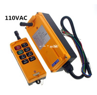 Cheap AC110V 8 Channels Hoist Crane Radio Remote Control System