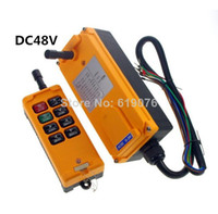 Cheap DC48V 8 Channels Hoist Crane Radio Remote Control System