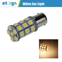 Wholesale 1141 BA15S W lm x SMD LED Warm White Car Signal Light Steering Lamp V