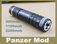 Wholesale Panzer mod clone Electronic cigarette mechanical mod panzer mech mod fit for big vapor and big capacity battery with gift box