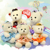 Wholesale piece cm Plush Toys Small Stuffed Animal Multi Color Teddy Bear toys and children s products