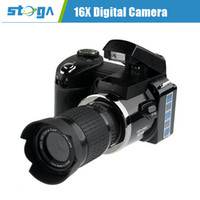 Black 10.0 - 20.0MP 7x or more 16.0 Mega Pixels Digital Zoom 8X HD 720 Anti-shake TS-D3000 16X Telephoto Digital Camera#2100182