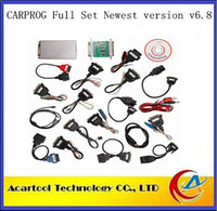 Wholesale 2014Latest Version V6 CARPROG FULL Universal Car Scanner With bit MPU And Full Set Of Automotive Interface Drivers