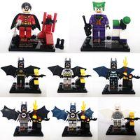 Wholesale Batman Series Robin Joker Figures Building Block Sets Minifigures Educational DIY Bricks Toys For Children