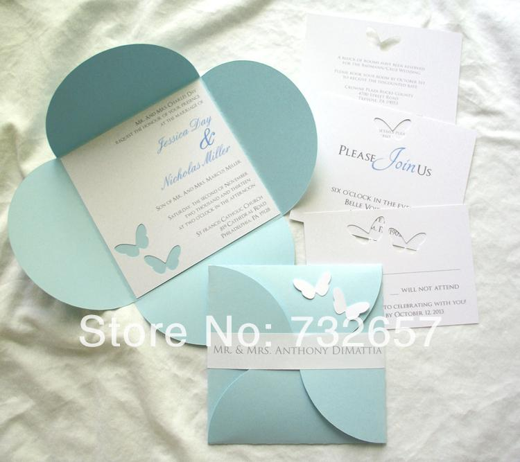 high end wedding invites rsvp card multi color pearl paper, Wedding invitations