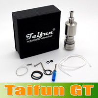 Wired Cell Phones 3.5mm Taifun GT Atomizer e cigarette Taifun rba tank atomizer rebuildable atomizer taifun gt atomizer with retail gift package seven--eleven