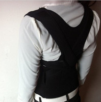 Cheap Wholesale-407-Free Sipping Hot selling Correct Posture Corrector Belt Vest Brace Back Support High Quality