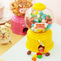 Wholesale 6 Candy machine Piggy bank Money box Saving Coin box Moneybox Unique toy Decorative Novelty household gift zakka