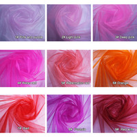 gauze roll - Hot New Sheer Decorative Yarn Crystal Yarn Marriage Gauze Curtain Decoration Wedding Roll Yarn