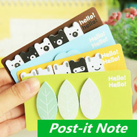 Wholesale 12 Post it notes Sticky note Memo pad stickers Notepad kawaii korean stationery office material School supplies