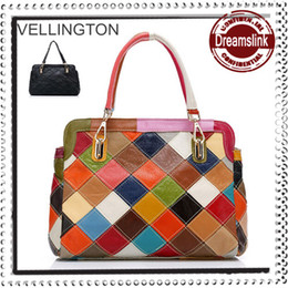 Wholesale 2014 Autumn women genuine leather handbags famous brand cowhide one bag messenger bag totes lady purse styles